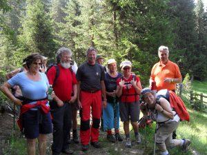 Spass und Genuss bei Wandern